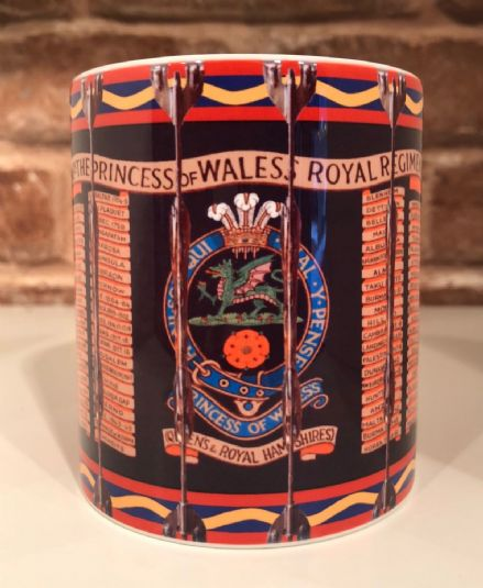 3rd Bn The Princess of Wales's Royal Regiment Drum Mug